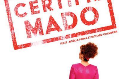 Noëlle Perna - 'certifié Mado' - report date avril à Toulouse