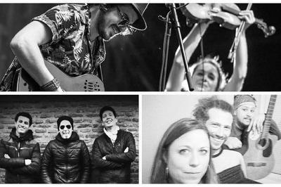 Nomad'Stones / Ruch / Beedjo's à l'Usine à Musique à Toulouse