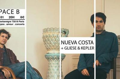Nueva Costa + Gliese & Kepler à Paris 19ème