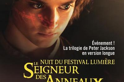 Nuit du Festival Lumière 2018 - Le Seigneur des Anneaux à Lyon