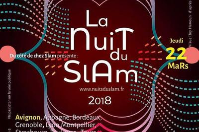 Nuit du Slam 2018 à Avignon