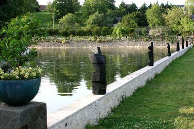 Oeuvres Monumentales De Nathalie Cirino & La Tribu De Sébastien Touret à Onzain