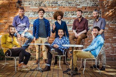Old School Funky Family (jazz, afro-beat-fusion) à Bonac Irazein