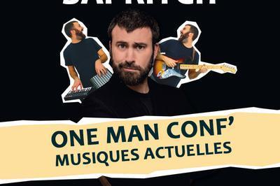 One Man Conférence sur l'histoire des musiques actuelles avec Sapritch à Albi