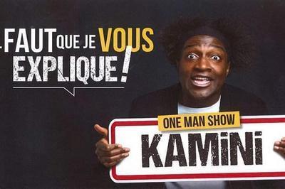 One Man Show de Kamini pour enfin rire à pleines dents à Jonzac