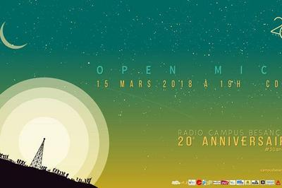 Open Théâtre #6 : Open Mic' - 20 ans Radio Campus à Besancon