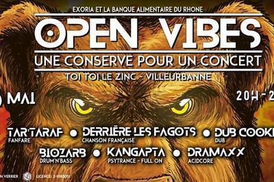 Open Vibes : une conserve pour un concert à Villeurbanne