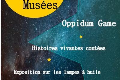 Oppidum Game - Exposition De Lampes à Huiles  à Beruges