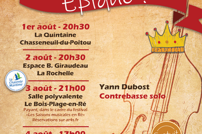 Orchestre Sortilège - Epique ! à Chasseneuil du Poitou