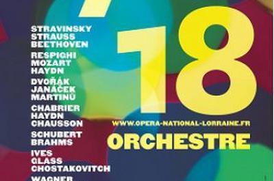 OSLN 5 Schubert, Brahms à Nancy
