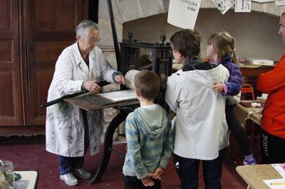 Ouverture De L'atelier De Lithographie Du Musée Du Pays D'ussel à Ussel