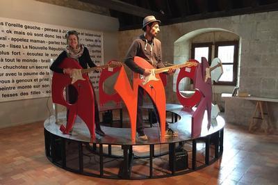 Ouverture De L'exposition Piano Piano Musique Et Art Contemporain à Chinon