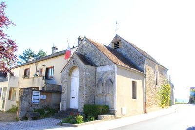 Ouverture Exceptionnelle D'un édifice Rare : La Mairie-église De Maincourt à Dampierre en Yvelines