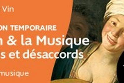 Ouverture Exceptionnelle De L'exposition Temporaire : Le Vin Et La Musique, Accords & Désaccords à Bordeaux