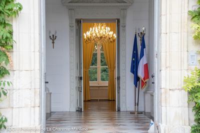 Ouverture Exceptionnelle De La Résidence Des Préfets De La Charente-maritime à La Rochelle