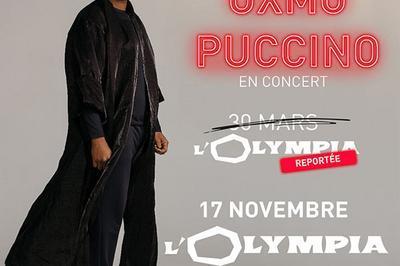 Oxmo Puccino -Date mars à Paris 9ème