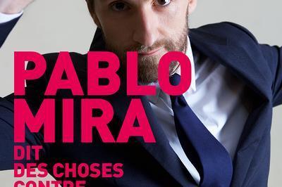 Pablo Mira dit des choses contre de l'argent à Auxerre