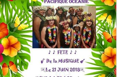 Pacifique Océanie 51 (Fête de la Musique 2018) à Chalons en Champagne