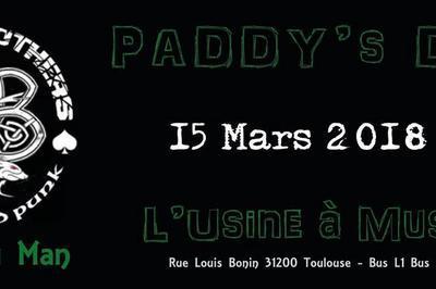 Paddy's day à l'usine à Toulouse