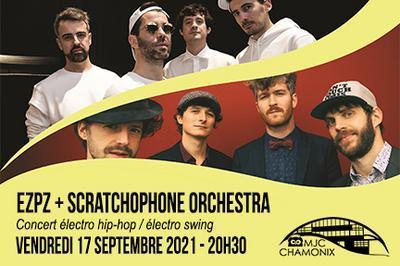EZPZ et Scratchophone Orchestra - concert à Chamonix Mont Blanc
