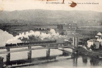 Parcours Ferroviaire Guidé Sur Les Lieux Remarquables Du Chemin De Fer à Puy L'Évêque Mis En Service En 1869 à Puy l'Eveque