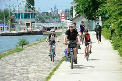 Parcours Vélo-patrimoine à Aubervilliers