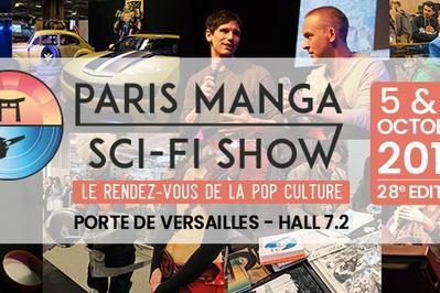 Paris Manga Sci-Fi Show Octobre 2019