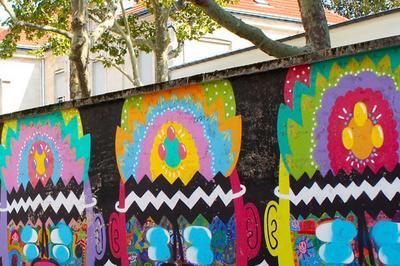Paris Street Art Butte-Aux-Cailles à Paris 1er