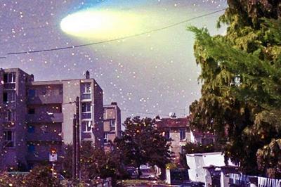Passage de la comète à Bobigny