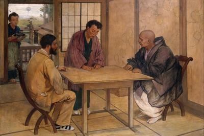 Pasteur Fait Son Cirque ! Felix Régamey, Portraitiste De Pasteur Et Peintre Du Japon ! à Dole