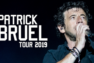 Patrick Bruel Tour 2019 à Strasbourg