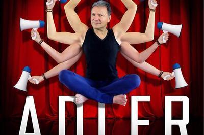Patrick Adler en voix du lourd à Paris 19ème