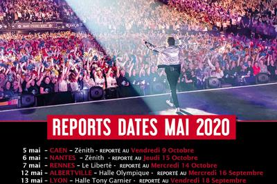 Patrick Bruel date initialement prévue en mai à Rennes