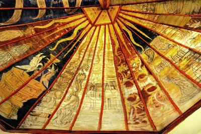 Peintures murales de Puisaye-Forterre et de l'Auxerrois à Auxerre