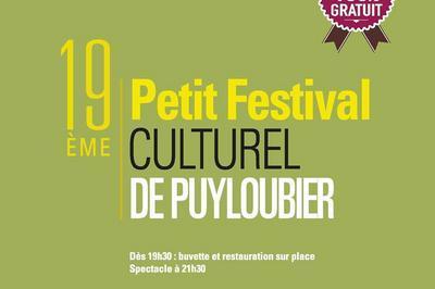 Petit festival Culturel de Puyloubier 2019