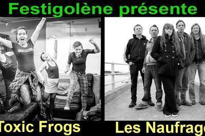 Concert St Patrick Toxic Frogs Les Naufragés à Sainte Sigolene