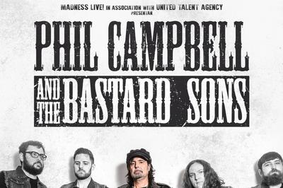 Phil Campbell & The Bastard Sons à Bordeaux