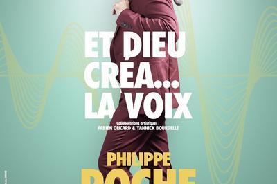 Philippe Roche dans Et Dieu créa... la voix à Avignon
