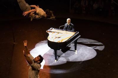 Piano sur le fil / Bachar Mar Khalifé-Gaetan Levêque à Vendome