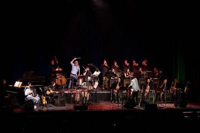 Pierre Bertrand & Le Latvian Radio Big Band - Paris-Riga à Paris 15ème