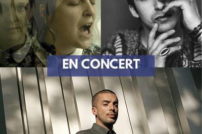 PihPoh, Camicela et Mehdi Cayenne (tournée Mégaphone Tour) à Saint Etienne