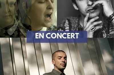 PihPoh, Camicela et Mehdi Cayenne (tournée Mégaphone Tour) à Rocles