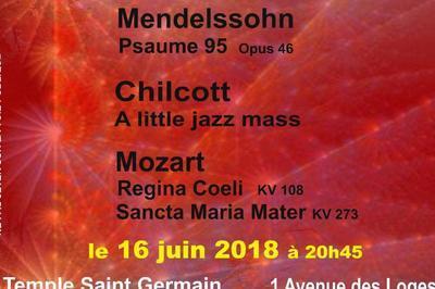 Chœur du Pincerais à Saint Germain en Laye