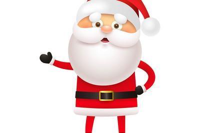 Pirouette et le sapin de Noël, en présence du Père Noël ! à La Ciotat