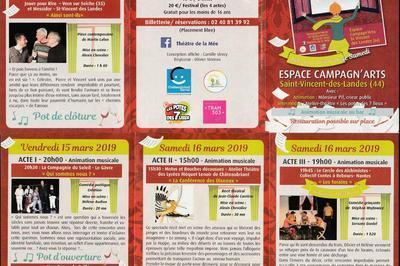 Festival Theatre Au Pays De La Mee à Saint Vincent des Landes
