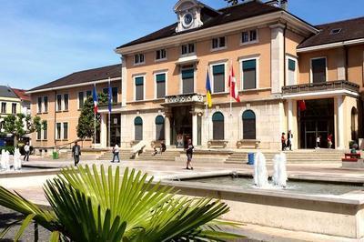 Plongée Dans Les Archives La Gare, Moteur Du Développement De La Ville à Annemasse