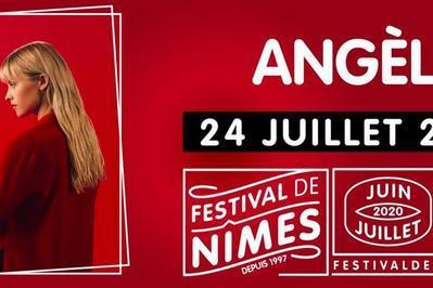 Angèle au Festival de Nîmes 2020 à Nimes