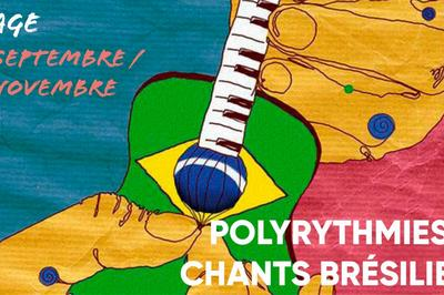 Polyrythmies Et Chants Brésiliens à Paris 13ème