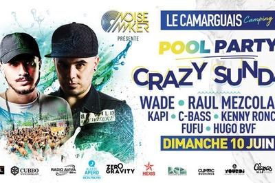 Pool Party Crazy Sunday à Lattes