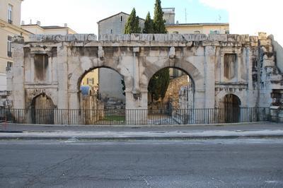 Porte D'auguste à Nimes